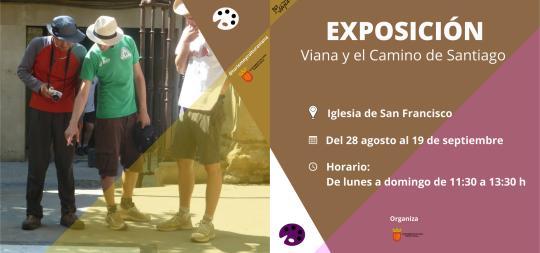 Imagen EXPOSICIÓN «VIANA Y EL CAMINO DE SANTIAGO»